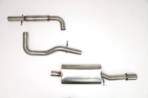 "Billy Boat - VW MK4 GLI 2.5"" Catback Exhaust w/ Single Tip - Redline Motorworks"