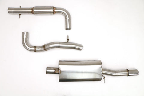 "Billy Boat - VW MK4 GLI 3"" Catback Exhaust w/ Single Tip - Redline Motorworks"