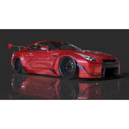 GReddy X Rocket Bunny R35 GT-R Full Metal Jacket Aero Kit - Redline Motorworks