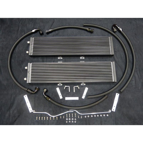 Vadder Dual Core Heat Exchanger for 2009-2015 CTS-V (Flat Black) - Redline Motorworks