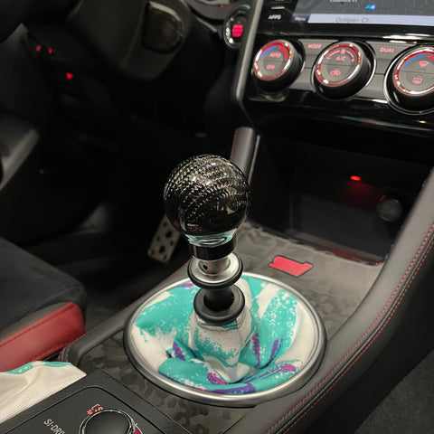 Much Performance Carbon Fiber Shift Knob For All Subarus