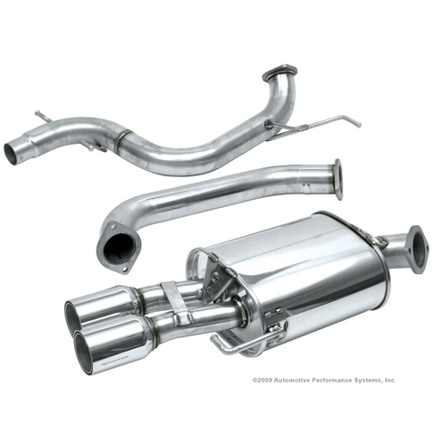 Neuspeed Stainless Steel 70mm Catback Exhaust VW Mk5 Jetta 2.0T - Redline Motorworks