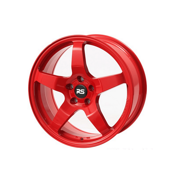 Neuspeed 17x8 ET45 5x112 RSe05 Light Weight Wheel Red - Redline Motorworks