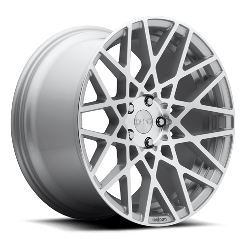 Rotiform BLQ Wheels Silver Machined 18x8.5 | 5x112 | ET45 - Redline Motorworks