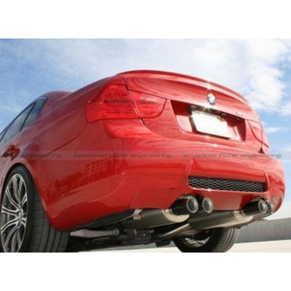 aFe MACHForce XP Stainless Steel Cat-Back Exhaust System BMW M3 (E90) 08-13 - Redline Motorworks