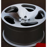 Watercooled Industries CC10 Machined Silver Wheel 18x9.5 ET35 5x100 - Redline Motorworks