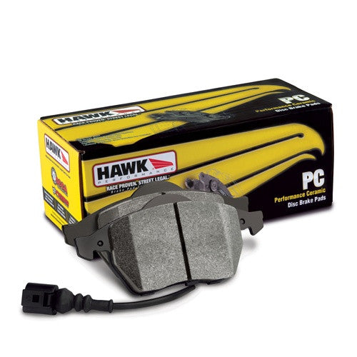 Hawk Perf. Ceramic Brake Pads - Rear R55, R56 Mini Cooper - Redline Motorworks