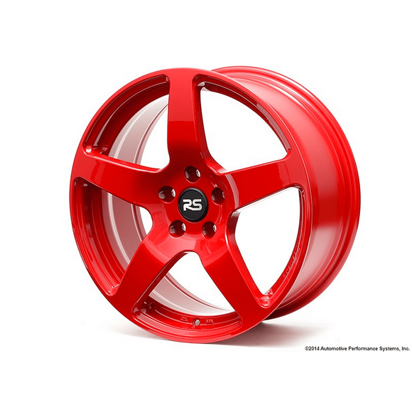 Neuspeed 18x8 ET45 5x112 RSe52 Light Weight Wheel Red - Redline Motorworks