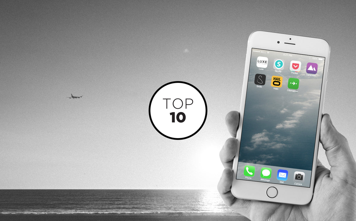 Top 10 Travel Apps