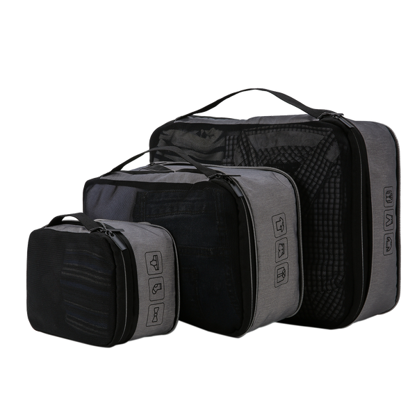 Packing compression travel cubes by Gilbano