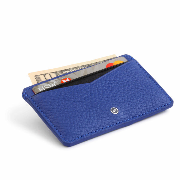 Leather Credit Card Case with TILE SLIM integration by GILBANO