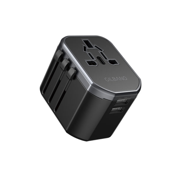 Universal Power Adapter for Europe USA and Asia by GILBANO