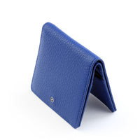 Leather Credit Card wallet by GILBANO - Model: OYSTER