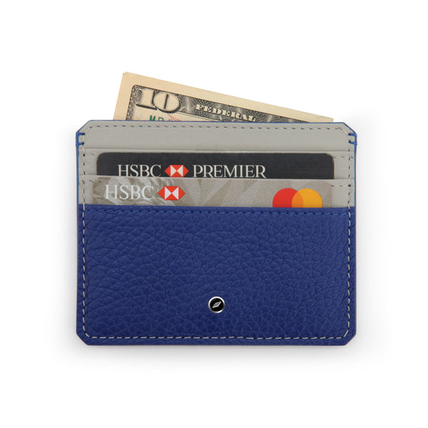 Leather Credit Card Wallet by GILBANO