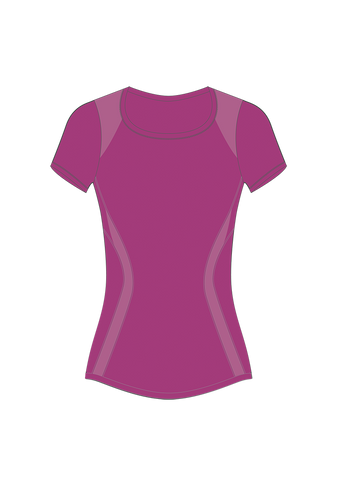 Women's Prism Seamless Tee (on sale)