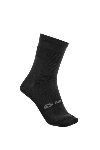 SUGOI  RS Crew Socks, Black (94948U)