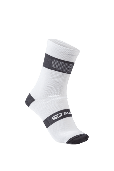 SUGOI  RS Crew Socks, White (94948U)