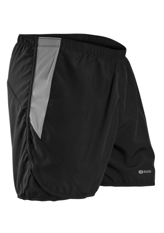 SUGOI Men's Titan Run Short, Black (30341U)