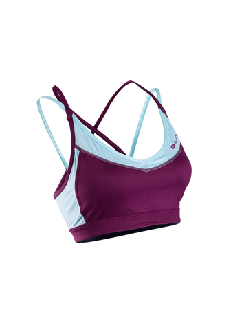 SUGOI Women's Verve Fitness Bra - Boysenberry (10206F)
