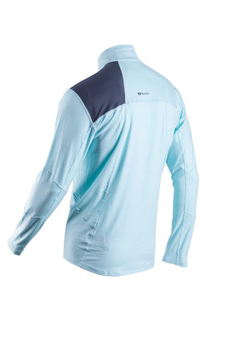 SUGOI Men's Titan Core Zip, Ice Blue Alt (60035U)