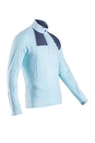 SUGOI Men's Titan Core Zip, Ice Blue (60035U)