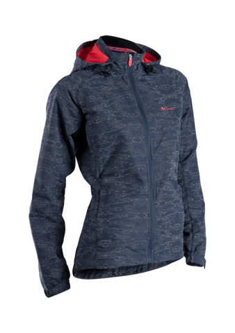 SUGOI Women's Zap Run Jacket, Coal Blue (70735F)