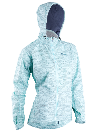SUGOI Women's Zap Run Jacket, Ice Blue (70735F)