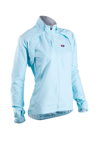 SUGOI Women's Versa Bike Jacket, Ice Blue (70775F)