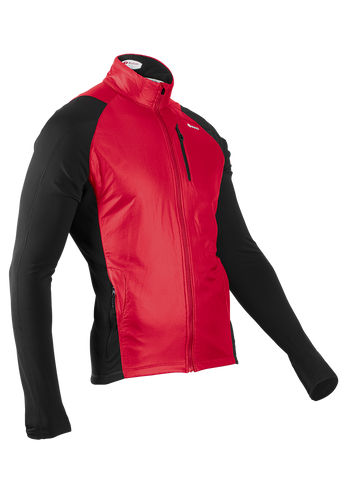 SUGOI Men's Alpha Hybrid Jacket, Chili (70906U)