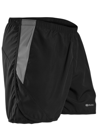 SUGOI Men's Pace 5 Short, Black (30343U)