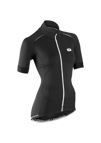 SUGOI Women's RS Thermal Jersey, Black (57410F)