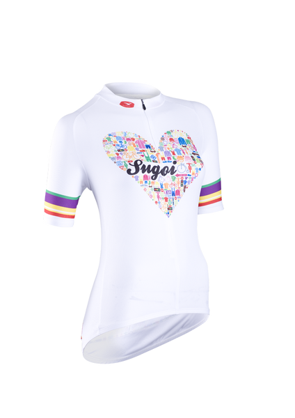 Women's I Heart Bikes Jersey (on sale)
