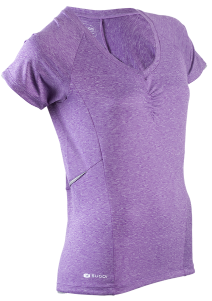 SUGOI Women's Verve Bike Jersey, Purple (59615F)