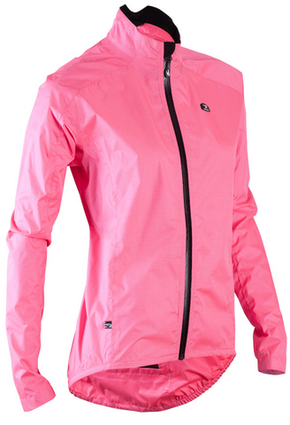 SUGOI Women's Zap Bike Jacket, Super Pink (70734F)