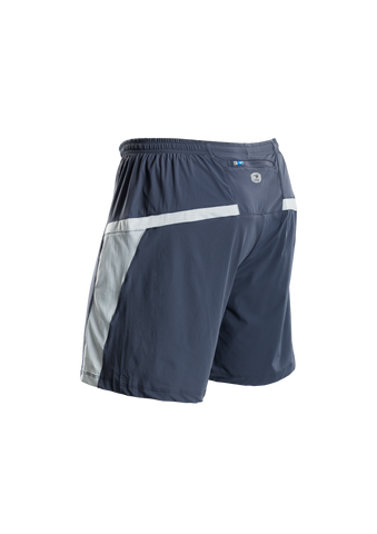 SUGOI Men's Titan 7 inch 2 in 1 Short, Coal Blue Alt (30349U)