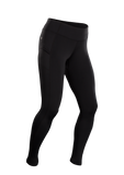 SUGOI Women's SubZero Tight, Black (U405500F)