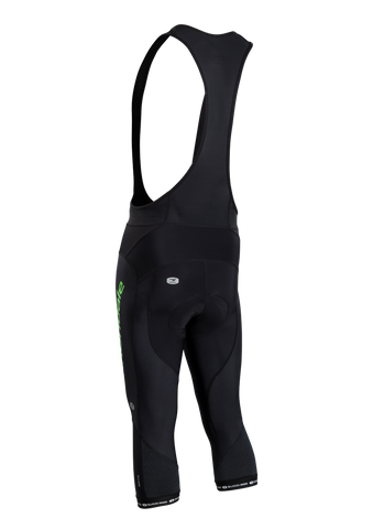SUGOI Men's Evolution MidZero Bib Knicker, Black Alt (U497000M)