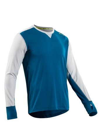 SUGOI Men's Coast Long Sleeve, Baltic Blue (U601000M)