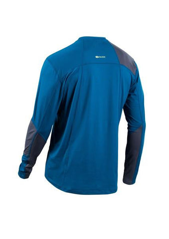 SUGOI Men's Titan Core Long Sleeve (L/S), Baltic Blue Alt (U602000M)