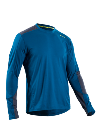 SUGOI Men's Titan Core Long Sleeve (L/S), Baltic Blue (U602000M)
