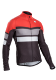 SUGOI Men's Evolution PRO Long Sleeve Jersey, Chili/Black (U676000M)