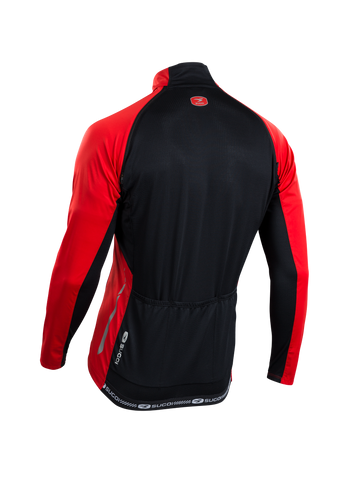 SUGOI Men's RS 120 Convertible Jersey, Chili red Alt (U677500M)