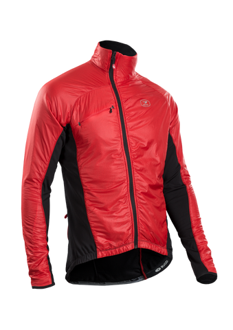 SUGOI Men's RSE Alpha Bike Jacket, Chili red (70907U)