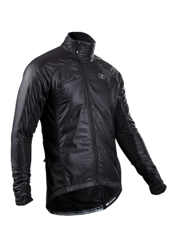 SUGOI Men's RSE Alpha Bike Jacket, Black (70907U)