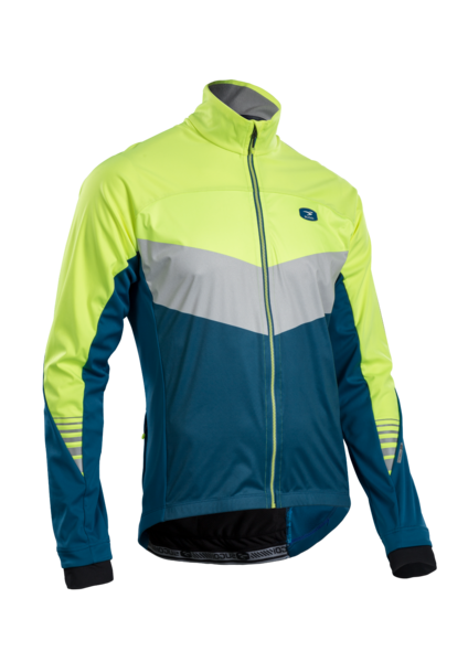 SUGOI Men's RS 180 Jacket, Baltic/Super Nova (U725000M)