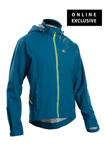 SUGOI Men's RSX NeoShell Jacket, Baltic Blue (07151M)