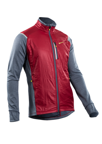 SUGOI Men's Alpha Hybrid Jacket, Varsity Red (U740000M)