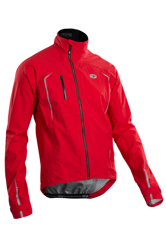 SUGOI Men's RSE NeoShell Jacket, Chili red (72757U)
