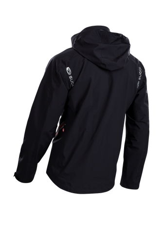 SUGOI Men's RSX NeoShell Jacket, Black Alt (72758U)