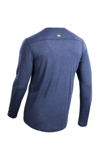 SUGOI Men's Pace L/S, Deep Royal Alt (U600500M)